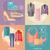 革 · バナー · 2 · 抽象的な · デザイン · にログイン - ストックフォト © robuart