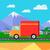トラック · 世界的な · 倉庫 · 物流 · コンテナ - ストックフォト © robuart