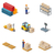 icon 3d isometric process of the warehouse stock photo © robuart