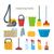 esponja · estilo · projeto · vetor · equipamento · ferramentas - foto stock © robuart