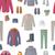 服 · 秋 · ベクトル · ジャケット · セーター - ストックフォト © robuart