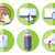 information resource devices icon set stock photo © robuart