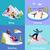 téli · sport · sí · hódeszka · hegy · tájkép · snowbordos - stock fotó © robuart