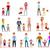 学校 · 子供 · 両親 · 実例 · アップ · 1 - ストックフォト © robuart