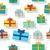 seamless pattern gift boxes stock photo © robuart