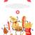komik · gıda · öykü · afiş · çocukça · menü - stok fotoğraf © robuart