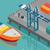 большой · порта · контейнера · бизнеса · промышленности · судно - Сток-фото © robuart
