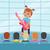 gitaar · kid · illustratie · spelen · jongen · jonge - stockfoto © robuart