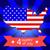 pavilion · Statele · Unite · hartă · America · American · Flag · proiect - imagine de stoc © robuart