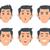 ビジネスマン · 表情 · 作業 · 楽しい · 企業 - ストックフォト © robuart