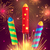 fogos · de · artifício · vetor · conjunto · festa · feliz · arte - foto stock © robuart