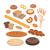 bakery products set flat design stock photo © robuart