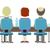 ストレスの多い · ビジネスマン · 作業 · 後ろ · ベクトル - ストックフォト © robuart