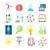 laboratorium · glas · cilinder · kleurrijk · chemische · onderzoek - stockfoto © robuart