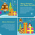 set of web banners winter holiday celebration stock photo © robuart