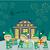 fadas · natal · presentes · projeto · vetor · engraçado - foto stock © robuart