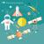 raket · ruimte · sterren · hemel · wetenschap · star - stockfoto © robuart