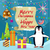 merry christmas and happy new year poster penguins stock photo © robuart