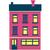 家 · 3 ·  · 床 · 孤立した · 白い家 · 煙突 - ストックフォト © robuart