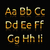 golden alphabet stock photo © robuart