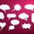 dialoog · bubble · icon · witte · eenvoudige · vak - stockfoto © robuart