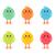 kabarık · sarı · civciv · tavuk · küçük · beyaz - stok fotoğraf © robuart