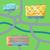 shopping center concept map vector illustration stock photo © robuart