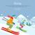 esqui · atleta · vetor · homens · inverno · viajar - foto stock © robuart