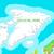 isometric map of greenland detailed illustration stock photo © robuart