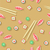seamless pattern with fish wasabi sushi sticks stock photo © robuart
