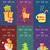 alegre · Navidad · helado · banners · feliz · año · nuevo - foto stock © robuart