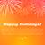 happy holidays best fireworks salute elements stock photo © robuart