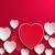 san · valentino · carta · cuori · biglietto · d'auguri · vettore · felice - foto d'archivio © robuart