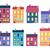 windows · conjunto · janela · branco · rua · vermelho - foto stock © robuart