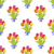 groene · naadloos · textuur · tulpen · voorjaar · achtergrond - stockfoto © robuart