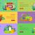 набор · игорный · вектора · Баннеры · дизайна · стиль - Сток-фото © robuart