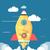 начала · вверх · ракета · бизнеса · Идея · шаблон - Сток-фото © robuart