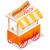ホットドッグ · 通り · ショップ · カート · アイコン · 漫画 - ストックフォト © robuart