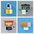 felső · kilátás · munkahely · laptop · eszközök · tabletta - stock fotó © robuart
