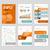 negócio · brochuras · banners · conjunto · estratégia - foto stock © robuart