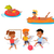 summer fun and entertainments illustration stock photo © robuart