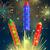 conjunto · colorido · vetor · foguete · quatro · cor - foto stock © robuart