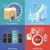 данные · файла · папке · Recycle · кнопки - Сток-фото © robuart