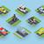kamu · taşımacılık · trafik · toplama · araba · moto - stok fotoğraf © robuart