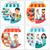 carro · serviço · banners · horizontal · ícones · como - foto stock © robuart