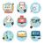 бизнеса · служба · маркетинга · иконки · веб-дизайна · объекты - Сток-фото © robuart
