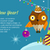 merry christmas conceptual flat style banner stock photo © robuart