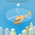 helikopter · ikon · vékony · vonal · vektor · háló - stock fotó © robuart