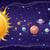 sistema · solar · projeto · espaço · planetas · estrelas · sol - foto stock © robuart