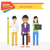 開始 · アップ · チームワーク · ビジネスの方々 ·  · 作業 - ストックフォト © robuart